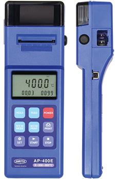 配备便携式打印机的温度计AP-400E / 400K