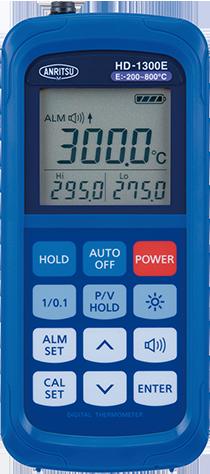 便携式温度计HD-1300E / 1300K
